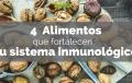 4 Alimentos que fortalecen tu sistema inmunológico