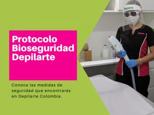 Protocolo bioseguridad Depilarte